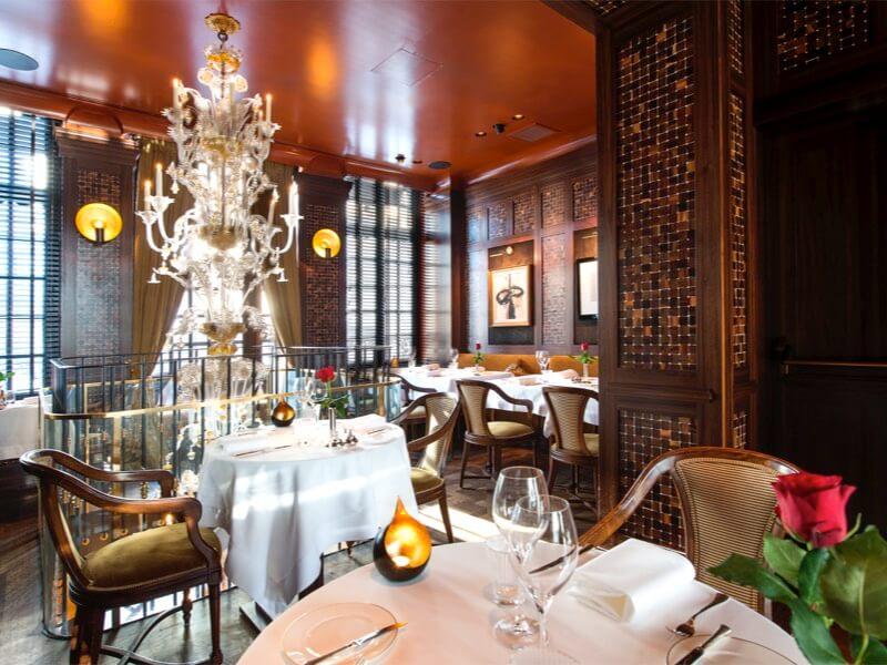 Restaurant gastronomique La Villa Emily - Bruxelles